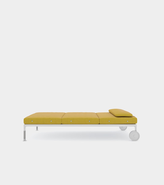chaise lounge modelled 3D model