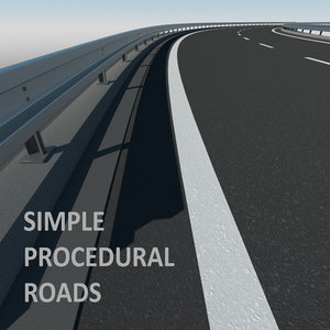 roads simple 3D