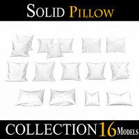 3D solid pillow set 2 model