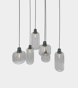 photorealistic retro ceiling lamp 3D