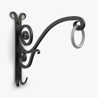 vintage wall bracket plants model