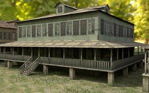 new orleans houses 3D model