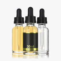 3D 30ml dropper bottle type2 model