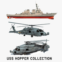 3D 2 uss hopper