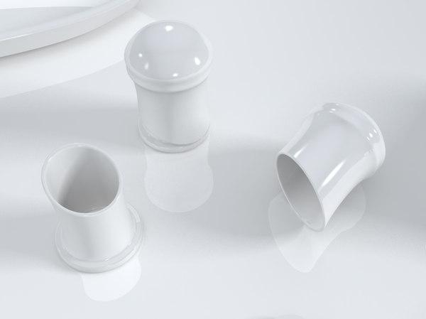3D model toothpick holder design printing