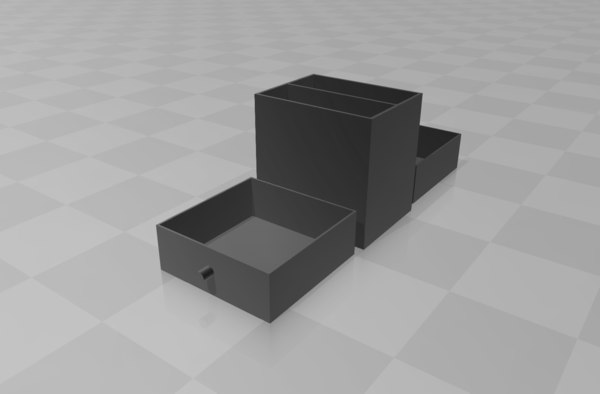 3D scalable drawer