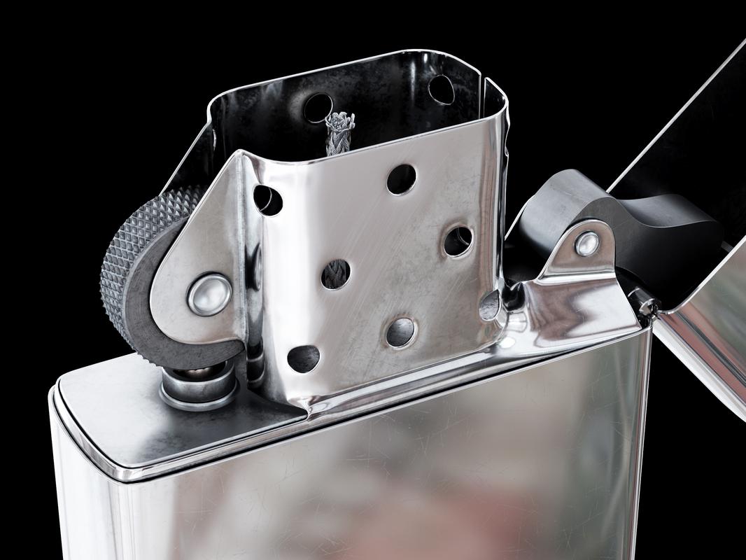 3D zippo lighter