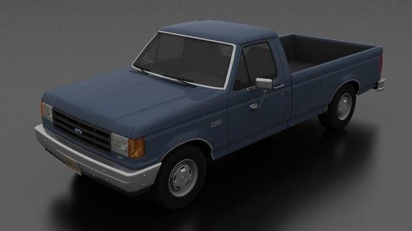 f-150 custom pickup 1987 model