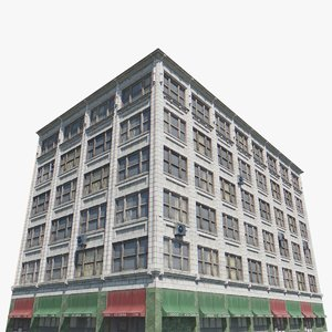 3D telegraph building