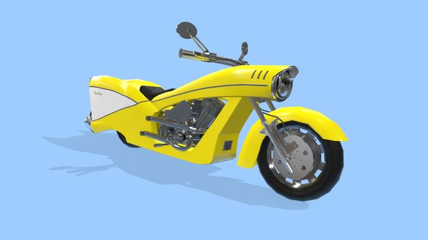 ness-stalgia motorcycle 3D model