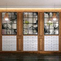 wall panel set 71 3D model