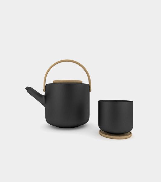 tea mug teapot 3D model