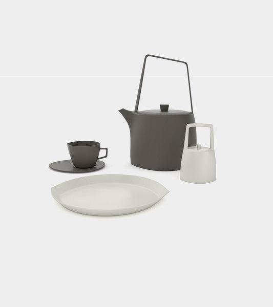 3D tea set teapot cup