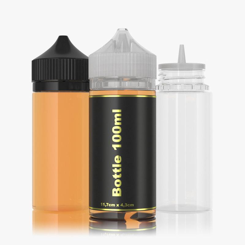 3D bottle 100ml type2