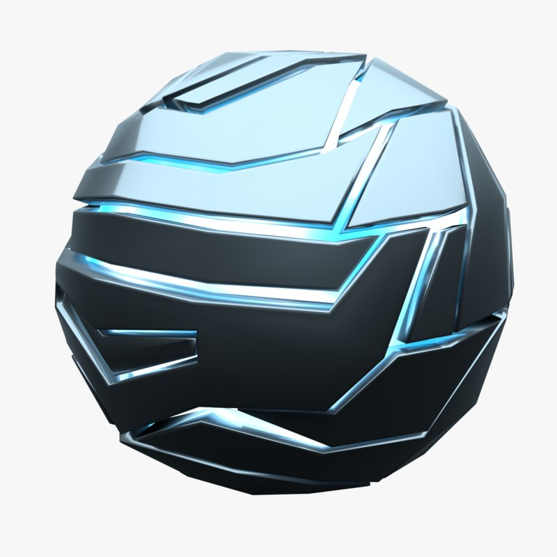 techno sphere 3D