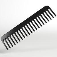 3D wide tooth comb
