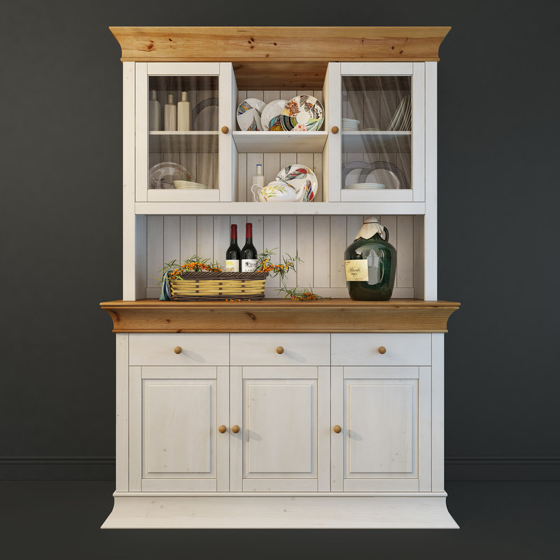 cupboard provence boston 3D model