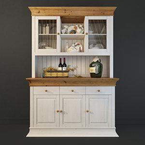 cupboard provence boston 3D model