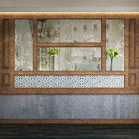 3D wall panel set 76