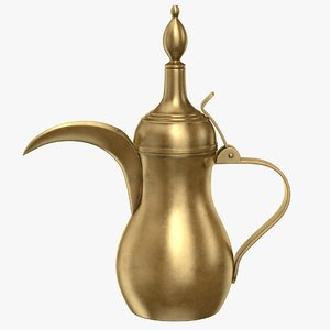3D arabic teapot tea model