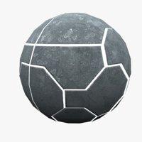 3D model techno sphere