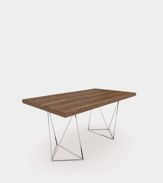 dining table walnut model