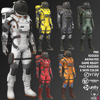 Male Sci-Fi Suit V2