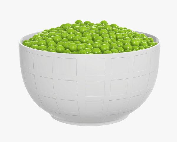 peas bowl model