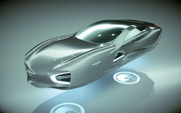 hover car 3D model