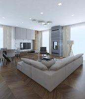 3D room model