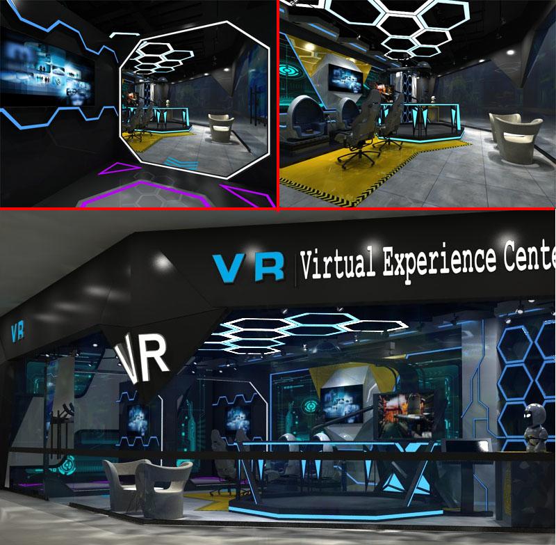 vr virtual experience center model