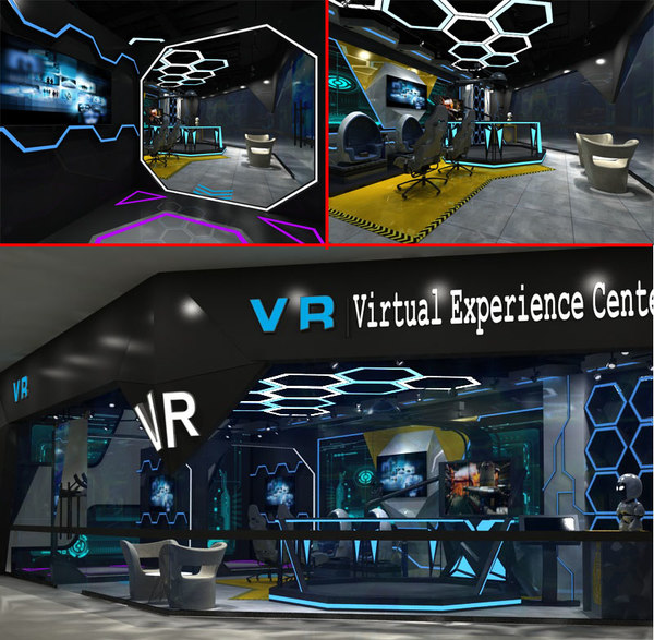 vr virtual experience center model