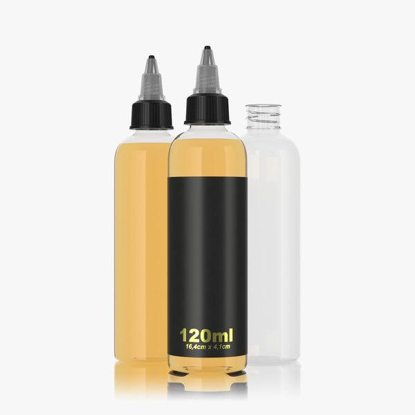 bottle 120ml type2 3D