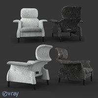 3D sanluca armchair