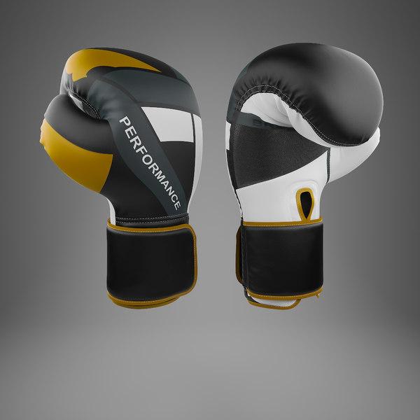 3D model boxing gloves