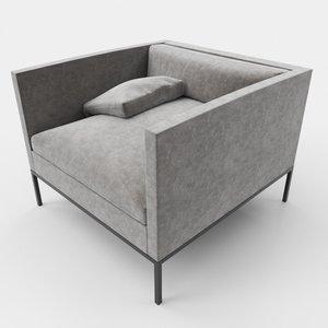 living room chair 3D model