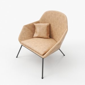 chair occasional 3D model