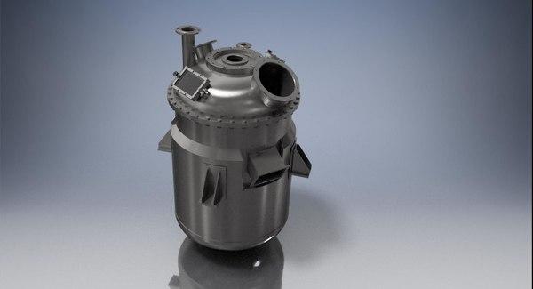 3D soap tank model