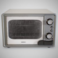 electric oven using clean 3D