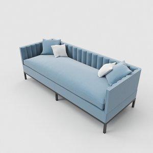 3D luxury sofa