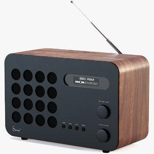 3D model vitra eames radio