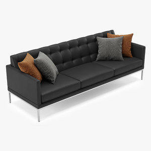 3D office sofa