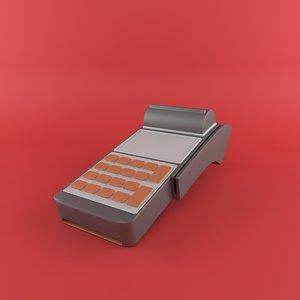 3D model pos machine