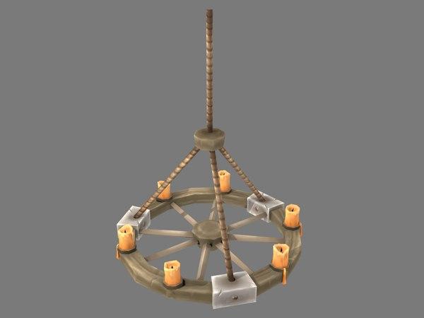 medieval chandelier model