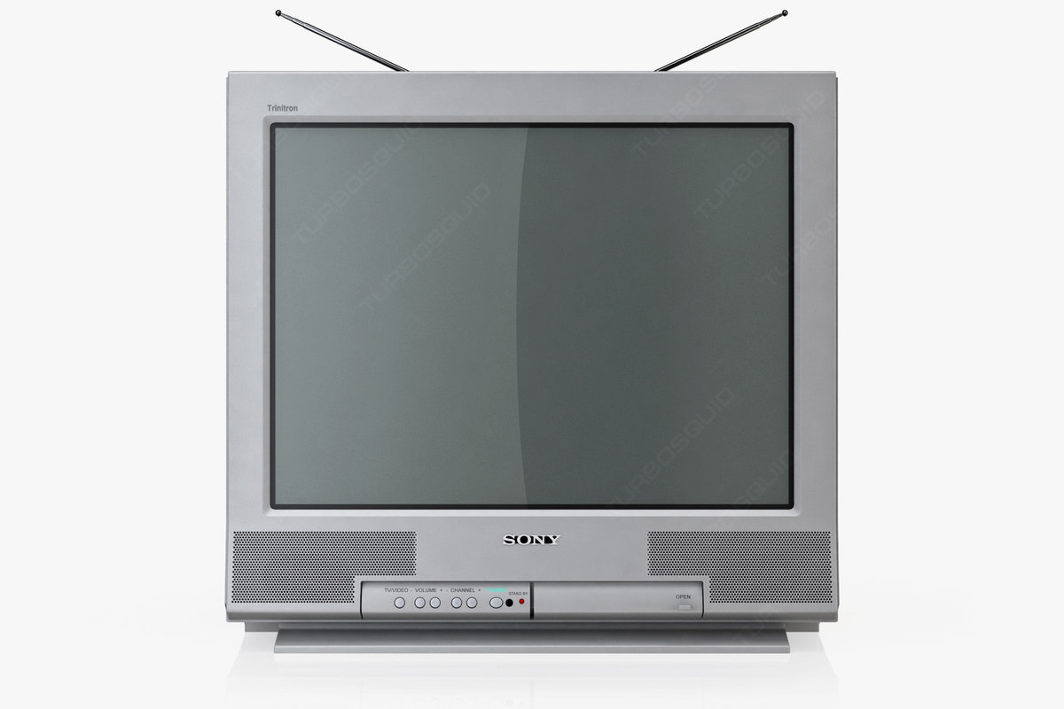 The Sony Trinitron is a CRT TV that was very popular.