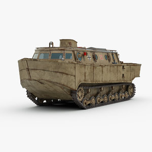 ww2 german landwasserschlepper 3D
