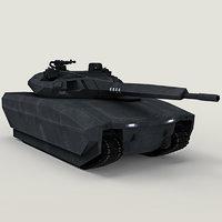 obrum pl-01 stealth polish 3D model