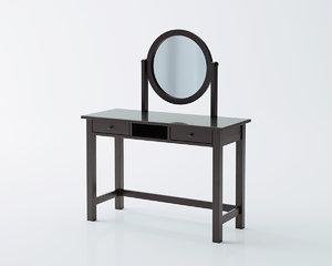 3D hemnes dressing table