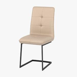 3D milva hazel chair model