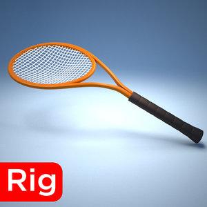 3D racket model